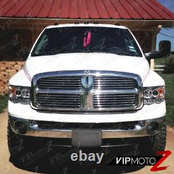 Pour 02-05 Dodge Ram 1500 Chrome Halo Projecteur Led Phare 03-05 Ram 2500 3500