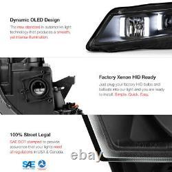 Pour 04-08 Acura Tl Hid Xenon Modèle Led Projecteur De Tube De Néon Phare Noir L+r