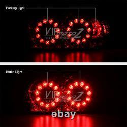 Pour 04-08 Mazda Rx8 Rx-8 Shinka Fumée Led Jdm Feux De Queue De Signal De Frein Arrière Lampe
