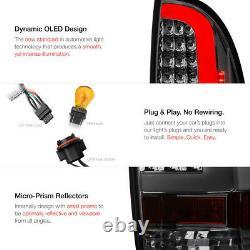 Pour 05-15 Toyota Tacoma Pickup Truck Pair Smoke Tinted Led Neon Tube Tail Light