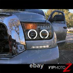 Pour 07-13 Toyota Tundra Camion De Ramassage Smoke Halo Projecteur Led Phare