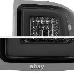 Pour 14-18 Chevy Silverado Smoked Lens Oled Tube Led Tail Lights Assemblage Pair