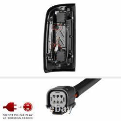 Pour 15-21 Chevy Colorado Black Smoke Oled Light Bar Lampe De Frein À Queue Led De Sauvegarde