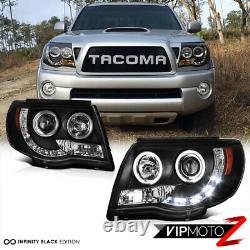 Pour 2005-2011 Toyota Tacoma Halo Projecteur Led Phares Pre Runner X Runner