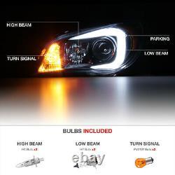 Pour 2006-2007 Subaru Hawkeye Wrx Neon Tube Projecteur Lampe De Phare Gauche + Droite