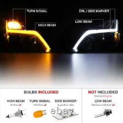 Pour 2008-15 Infiniti G37 Q60 Coupe Switchback Projecteur Strips Led Phares