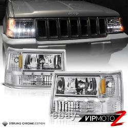 Pour 93-98 Jeep Grand Cherokee Zj 3in1 Signal+parking+headlight Led Smd Strip Bar