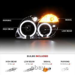 Pour 98-04 R170 Slk230 Slk55 Amg Euro Projecteur Halo Projecteurs Chrome