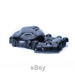 Pour Bmw S1000rr S1000r 2009-18 Côté Gauche Panneau D'embrayage Couvercle De Moteur En Fibre De Carbone