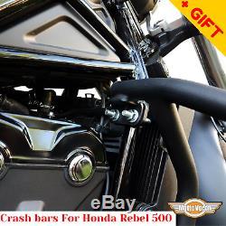 Pour Honda Rebel 500 Crash Barres Porte Latéral Pour Rack CMX 500 Pannier Garde Moteur
