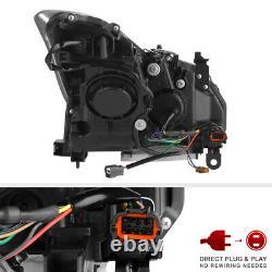 Projecteur De Fumée De Phare À Led Sequential Drl Pour 08-15 G37 Q60 2dr