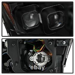 Projecteur De Tube De Néon Darkest Smoke Pour 10-13 Infiniti G37 G25 Sedan