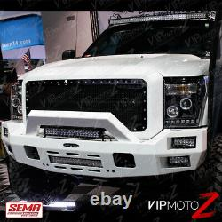 Projecteur Led Brightest Ccfl Halo 2011-2016 Ford F250 F350 F450 Sd
