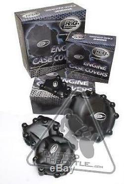 R & G Du Côté Gauche Et Du Côté Droit Du Moteur Case Cover Kit Pour Honda Cbr500r / Cb500f / Cb500x