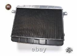Refroidisseur Radiator Fiat 124 Spider Comme Bs Cs1 1400 1600 Radiateur 1966-78 Nouveau