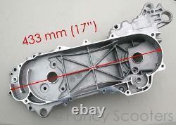 Taotao, Peace, Roketa, Sunl, Jonway 50cc Scooter Engine Left Side Crankcase (long)