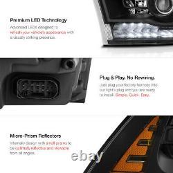 Vip Exclusiverebel Noir 13-18 Dodge Ram 1500-3500 Led Projecteur Drl Phare