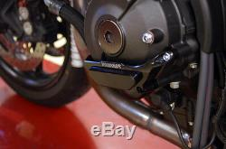 Yamaha 2017-2018 Fz10 Woodcraft Racing Protecteur Couvercle De Stator De Moteur Côté Gauche