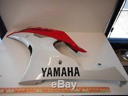 Yamaha Yzf-r6 R6 Côté Gauche Carénage Carénage Moteur Cover Oem 13s-28385-00