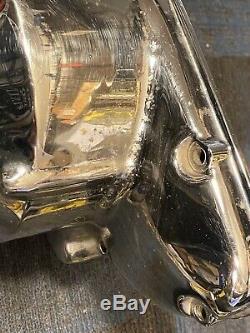 Z1 Côté Kawasaki Kz900 Moteur Du Moteur De Couvercle De Stator De Chrome Kz1000 Gauche